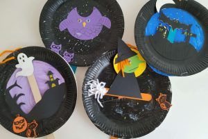 Taller de Halloween – Platos decorados